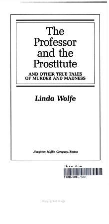 teh professor and the prostitute  PDF