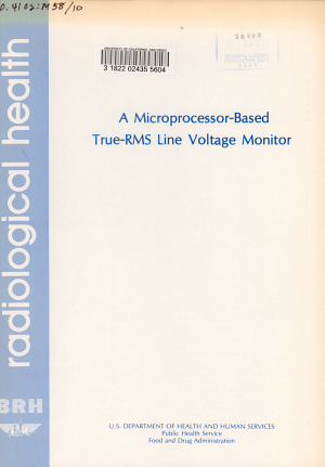 A Microprocessor based True RMS Line Voltage Monitor