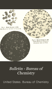Bulletin - Bureau of Chemistry: Volume 13, Part 9