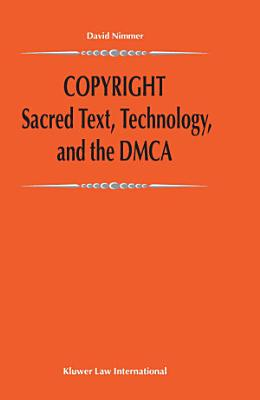Copyright Sacred Text  Technology  and the DMCA