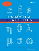 Fundamental Statistics for the Social  Behavioral  and Health Sciences PDF