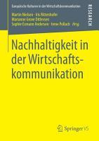 Nachhaltigkeit in der Wirtschaftskommunikation PDF