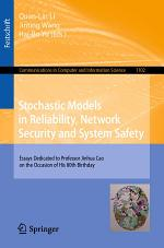 Stochastic Models in Reliability, Network Security and System Safety