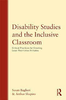 Disability Studies and the Inclusive Classroom Book