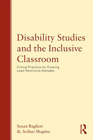 Disability Studies and the Inclusive Classroom PDF