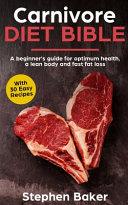 Carnivore Diet Bible