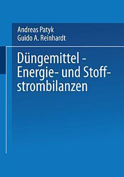 D  ngemittel     Energie  und Stoffstrombilanzen PDF