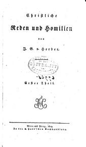 Johann Gottfried von Herder's Sämmtliche Werke ...