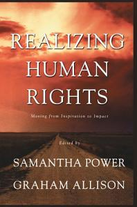 Realizing Human Rights Book
