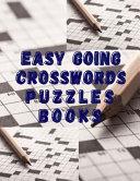 Easy Going Crosswords Puzzles Books