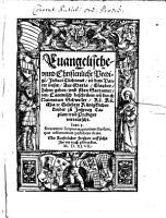 Evangelische  vnnd Christenliche Predig   PDF