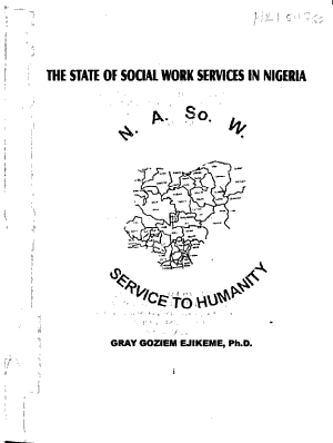 The state of social work services in Nigeria PDF