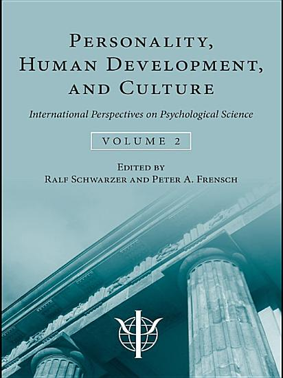 Personality  Human Development  and Culture PDF
