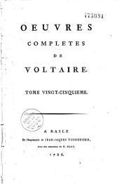 Oeuvres complètes de Voltaire: Volume18