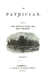 The Patrician: Volume 5