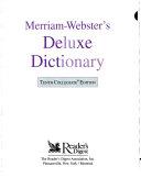 Merriam-Webster's Deluxe Dictionary