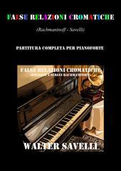 False Relazioni Cromatiche: Omaggio a Sergei Rachmaninoff
