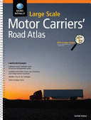 Rand McNally Large Scale Motor Carriers  Road Atlas