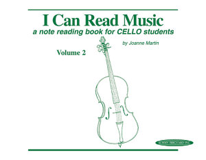 I Can Read Music