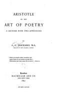 Aristotle on the Art of Poetry PDF
