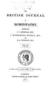 The British Journal of Homoeopathy: Volume 9