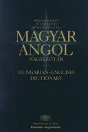 Hungarian English dictionary PDF