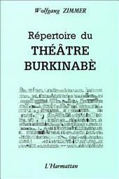 Répertoire du théâtre burkinabé
