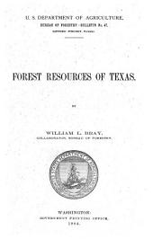 Forest Resources of Texas