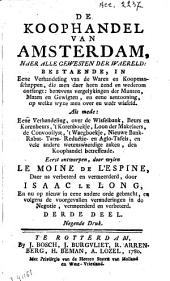 De koophandel van Amsterdam: Volume 3