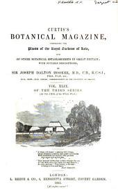 Curtis's Botanical Magazine: Volume 119