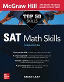Top 50 SAT Math Skills, Third Edition