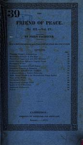 The Friend of Peace Book