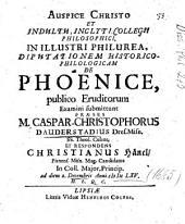 De Phoenice
