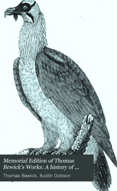 Memorial Edition of Thomas Bewick's Works: A history of British birds. Water birds