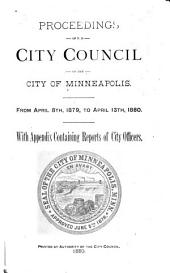 Proceedings of the City Council of the City of Minneapolis, Minnesota from: Volume 5