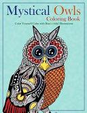 Mystical Owls Coloring Book