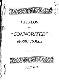 Catalog of  Connorized  Music Rolls for 65 Note Player pianos PDF