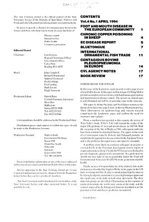 State Veterinary Journal