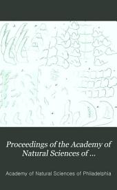 Proceedings of the Academy of Natural Sciences of Philadelphia: Volume 31