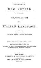 New Method of Learning     Italian Language     PDF