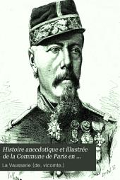 Histoire anecdotique et illustrée de la Commune de Paris en 1871
