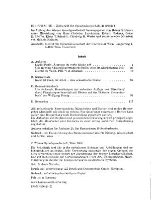 Die Sprache PDF