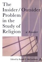 The Insider Outsider Problem in the Study of Religion PDF