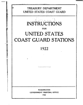 Instructions for United States Coast Guard Stations