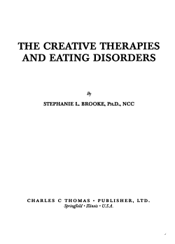 The Creative Therapies and Eating Disorders PDF