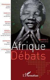 Afrique Débats N° 1 : Mai 2012
