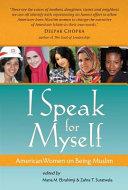 Download I Speak for Myself Book