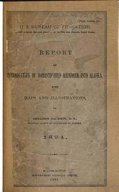 Report on Introduction of Domesticated Reindeer Into Alaska, 1894