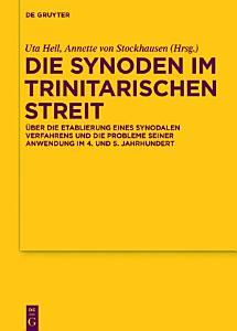Die Synoden im trinitarischen Streit PDF
