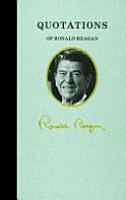 Quotations of Ronald Reagan PDF